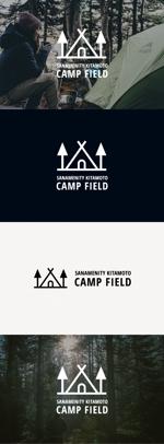 tanaka10さんの北本市野外活動センター新ネーム「サンアメニティ北本キャンプフィールド」のロゴへの提案