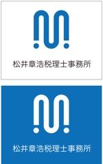 taki-5000さんの「松井章浩税理士事務所」のロゴ作成への提案