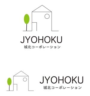 dd51さんの新規設立の不動産仲介会社「城北コーポレーション株式会社」のロゴ作成への提案