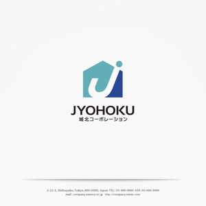 yahhidyさんの新規設立の不動産仲介会社「城北コーポレーション株式会社」のロゴ作成への提案