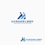 atomgraさんの「松井章浩税理士事務所」のロゴ作成への提案
