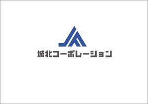 bowieさんの新規設立の不動産仲介会社「城北コーポレーション株式会社」のロゴ作成への提案
