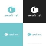 themisablyさんのネットショップサイト「serafi net」のロゴへの提案
