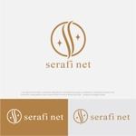 drkigawaさんのネットショップサイト「serafi net」のロゴへの提案