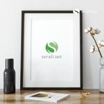 doremidesignさんのネットショップサイト「serafi net」のロゴへの提案
