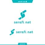 queuecatさんのネットショップサイト「serafi net」のロゴへの提案