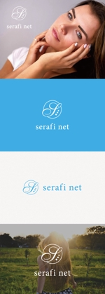 tanaka10さんのネットショップサイト「serafi net」のロゴへの提案