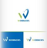建設業の設計、施工会社の【WORKERS】のロゴをお願いしますへの提案
