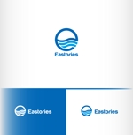 HP制作会社「イーストストーリーズ」の英語表記「Eaststories」のロゴへの提案