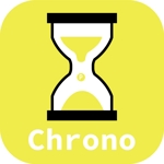 yukimegidonohiさんの時間に対して価値(ポイント)を付与するサービスアプリ「クロノポイント」のアプリアイコン制作への提案