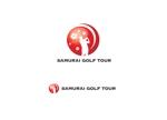 """外国人向けゴルフツアー""""サムライゴルフ""""のロゴへの提案"""
