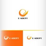 電力小売、電気管理の会社 「E-ADEPT」のロゴへの提案