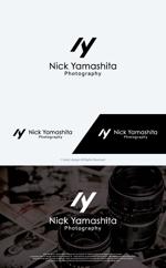 take5-designさんのフォトグラファー『Nick Yamashita Photography』のロゴへの提案