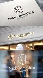 m_mtbooksさんのフォトグラファー『Nick Yamashita Photography』のロゴへの提案