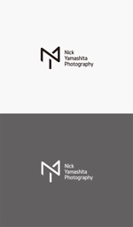 pekoodoさんのフォトグラファー『Nick Yamashita Photography』のロゴへの提案