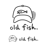 古着ネットショップ「old fish.」のロゴへの提案