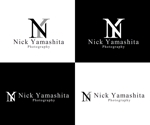 hope2017さんのフォトグラファー『Nick Yamashita Photography』のロゴへの提案