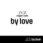 ビーガンカフェ「by love」のロゴ制作への提案
