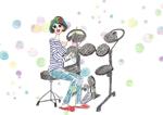 AsakoOhshimaさんの4枚のみ、ドラムをプレゼントされて喜ぶ大人の女性への提案