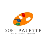 awn_estudioさんの「パソコンスクール・ソフトパレット・SOFT PALETTE」のロゴ作成への提案