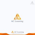 「ACラーニング株式会社」のロゴ作成-加速学習をテーマとした会社のロゴへの提案