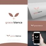 fortunaaberさんの女性の美しさを追求するマナー教室「grace blanca」のロゴへの提案