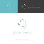 musaabezさんの女性の美しさを追求するマナー教室「grace blanca」のロゴへの提案