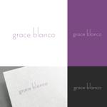venusableさんの女性の美しさを追求するマナー教室「grace blanca」のロゴへの提案