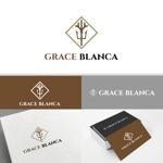 minervaabbeさんの女性の美しさを追求するマナー教室「grace blanca」のロゴへの提案