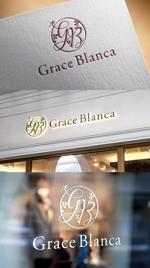 m_mtbooksさんの女性の美しさを追求するマナー教室「grace blanca」のロゴへの提案