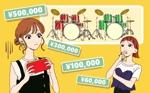 momy_18さんの4枚のみ、ドラムをプレゼントされて喜ぶ大人の女性への提案