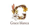 nyandam07さんの女性の美しさを追求するマナー教室「grace blanca」のロゴへの提案