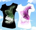 tuki203さんの女性Tシャツデザインへの提案