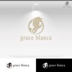 le_cheetahさんの女性の美しさを追求するマナー教室「grace blanca」のロゴへの提案