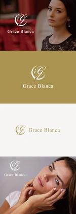 tanaka10さんの女性の美しさを追求するマナー教室「grace blanca」のロゴへの提案