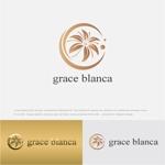 drkigawaさんの女性の美しさを追求するマナー教室「grace blanca」のロゴへの提案