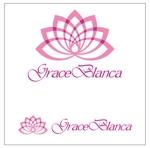 asanokenziさんの女性の美しさを追求するマナー教室「grace blanca」のロゴへの提案