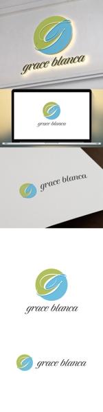 cozzyさんの女性の美しさを追求するマナー教室「grace blanca」のロゴへの提案