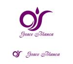 MacMagicianさんの女性の美しさを追求するマナー教室「grace blanca」のロゴへの提案