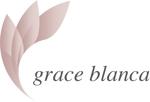 hiraboさんの女性の美しさを追求するマナー教室「grace blanca」のロゴへの提案