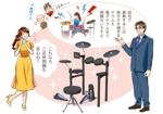 lelyさんの4枚のみ、ドラムをプレゼントされて喜ぶ大人の女性への提案