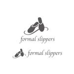スリッパ フォーマルスリッパのロゴへの提案