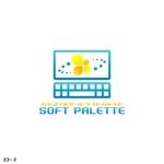 harujさんの「パソコンスクール・ソフトパレット・SOFT PALETTE」のロゴ作成への提案
