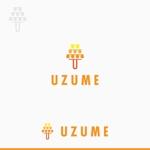 torch_treeさんのコンサルティング会社「UZUME」のロゴへの提案