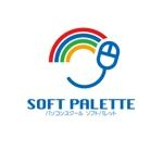 aofuneさんの「パソコンスクール・ソフトパレット・SOFT PALETTE」のロゴ作成への提案
