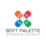 kumiuさんの「パソコンスクール・ソフトパレット・SOFT PALETTE」のロゴ作成への提案
