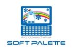 FISHERMANさんの「パソコンスクール・ソフトパレット・SOFT PALETTE」のロゴ作成への提案