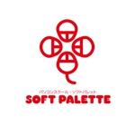 claphandsさんの「パソコンスクール・ソフトパレット・SOFT PALETTE」のロゴ作成への提案
