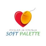 denqさんの「パソコンスクール・ソフトパレット・SOFT PALETTE」のロゴ作成への提案