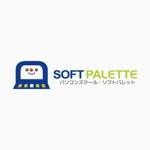 IERO-Uさんの「パソコンスクール・ソフトパレット・SOFT PALETTE」のロゴ作成への提案